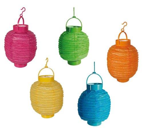 MQ-LED-Garten-Party-Lichter-Laterne-5-bunte-Lampen-batteriebetrieben-kabellos-20cm-Gartenbeleuchtung-Auenbeleuchtung