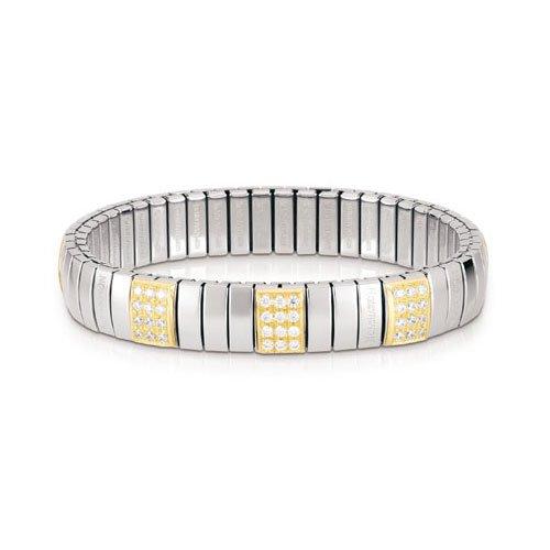 Nomination Damen-Armband Mittel Weiß 042470/001