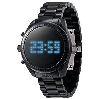 [オーディーエム]o.d.m 腕時計 カステルバジャックデザインモデル PHANTIME (ファンタイム) デジタル表示 5気圧防水 シャイニーブラック JC06-1 メンズ 【正規輸入品】