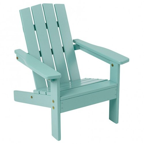 Manchester Wood Kid's Youth Adirondack Chair - Sky Blue