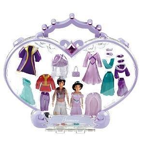Amazon.com: Disney Polly Pockets Aladdin & Jasmine Mini