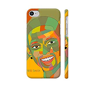 Colorpur Will Smith Painting In Multicolor Artwork On Apple iPhone 7 Cover (Designer Mobile Back Case) | Artist: Designer Chennai