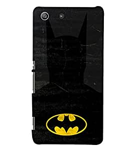 D KAUR Batman Back Case Cover for Sony Xperia M5::Sony Xperia M5 Dual