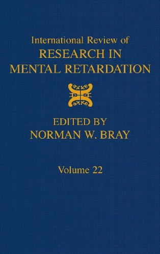 International Review of Research in Mental Retardation, Volume 22
