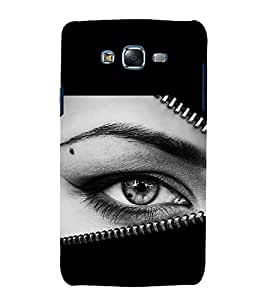 printtech Girl Eye Looking Back Case Cover for Samsung Galaxy Grand Max G720