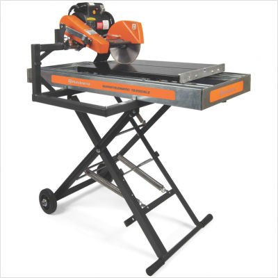"""Super Tilematic Ts 250 Xl3 1.5 Hp 220 V 10"""" Blade Diameter Electric Tile Saw With Stainless Steel Pan"""