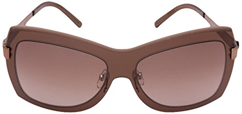 Givenchy Givenchy Oversized Sunglasses (Brown) (SGV360|R80|Medium)