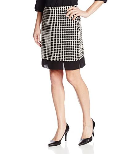 Vince Camuto Women's Organza Dot Skirt