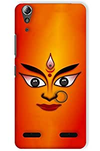 IndiaRangDe Hard Back Cover FOR Lenovo A6000 Plus