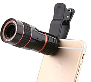 3Keys 8X Zoom Telescope Kit Universal Camera Lens for All Mobile Phones / Tablets. Good Quality product with manual focus with clip holder.