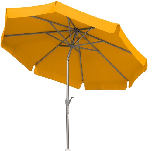 Schneider Sonnenschirm Orlando, gelb, ca. 270 cm Ø, 8-teilig, rund online kaufen