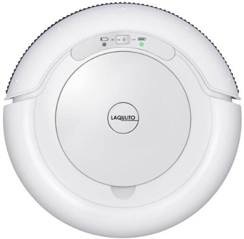 【Amazon.co.jp限定】 CCP自動ロボット掃除機 LAQULITO(エントリーモデル) ホワイト CZ-860-WH