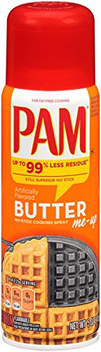 PAM Cooking Spray Butter Flavor, 5 Oz (Spray Popcorn Butter compare prices)