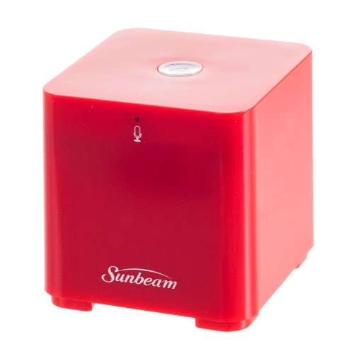 Sunbeam Bluetooth Conference Speaker With Built-In Microphone - Retail Packaging - Red