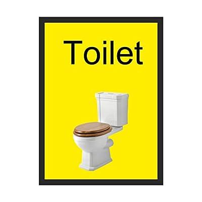 Toilet Dementia sign Self Adhesive 200mm x 300mm