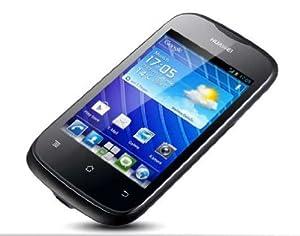 Huawei Ascend Y201 Pro Smartphone (8,9 cm (3,5 Zoll) Touchscreen, Single Core, 800MHz, 512MB RAM, 3,2 Megapixel Kamera, Android 4.0) schwarz