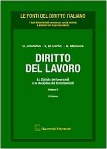 Diritto del lavoro vol. 2 - Lo statuto dei lavoratori e la disciplina