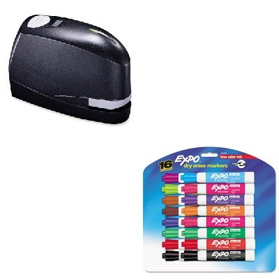 Kitbosb8Evaluesan81045 - Value Kit - Stanley Bostitch B8 Heavy-Duty Electric Stapler Value Pack (Bosb8Evalue) And Expo Low Odor Dry Erase Markers (San81045)