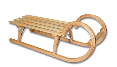 Ress Gebirgsrodel Hörnerrodel Lattensitz, 115cm,