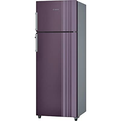 Bosch KDN43VR30I VitaFresh Double-door Refrigerator (347 Ltrs, Chrome Inox-metallic)