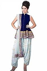 Shree Fashion Women's Silk Unstitched Dress Materials [D135]