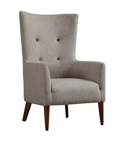 TOV Furniture Aspen Linen Chair, Beige
