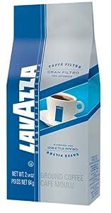 Lavazza Gran Filtro Pre-Portioned Coffee, Ground