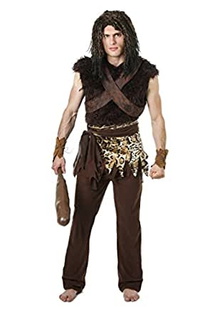Fun Costumes mens Adult Caveman Costume