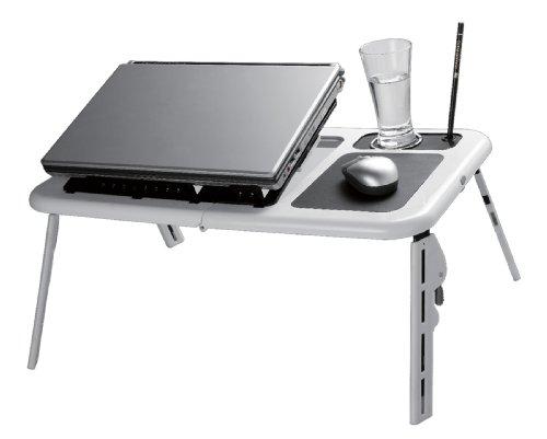 Table pour Laptop avec 2 fans d'aération