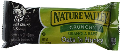 Nature's Valley Crunchy Granola Bars, Oats/Honey, 98 Count (Nature Valley Oats And Honey compare prices)
