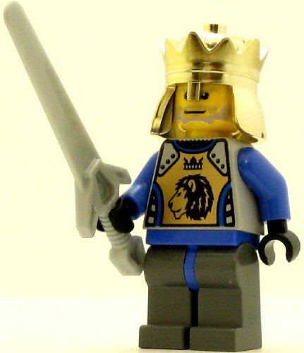 LEGO Castle Minifig Knights Kingdom II King Mathias - 1