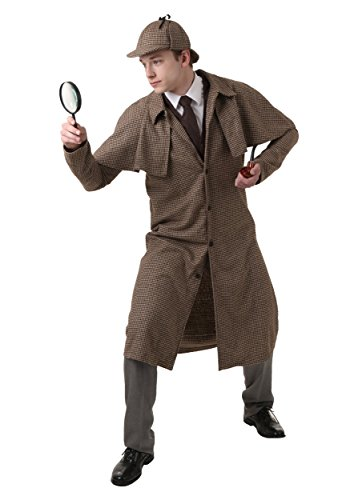 Diy or buy sherlock holmes and watson costumes adult sherlock holmes costume solutioingenieria Image collections