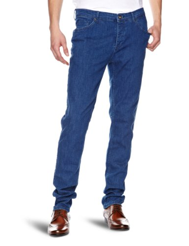 Selected Homme One Fabios Tony Mid Blue T Skinny Men's Jeans Denim W32 INxL34 IN