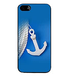 printtech Ship Anchor small Back Case Cover for Apple iPhone 5C