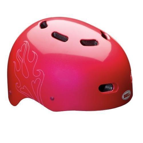 Buy Low Price Bell Candy Multi-Sport Helmet (Pink Fire-Helmet)