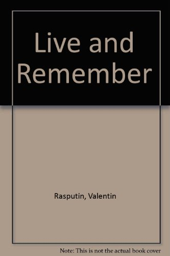 Live and Remember PDF