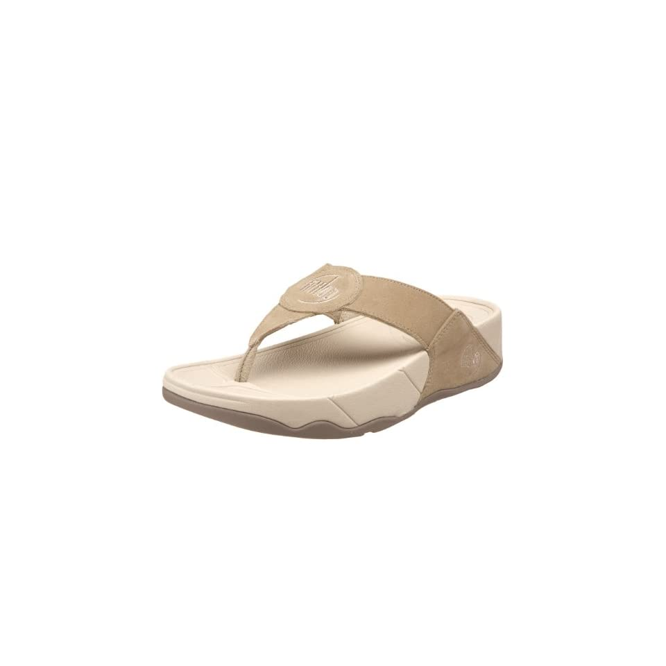 4905bc617fc3 FitFlop Womens Oasis Thong Sandal,Stone,11 M US on PopScreen