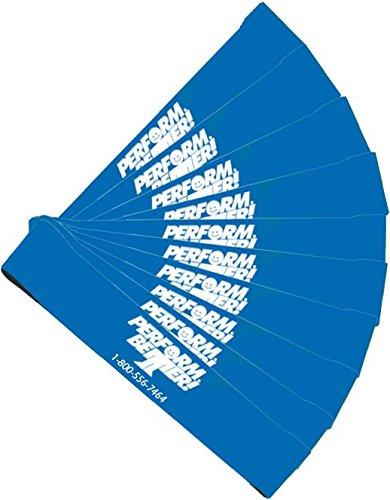 Perform Better Mini band hanno messo 10 bande di resistenza feroce blu