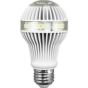 Lights of America 22149DLEDS-LF3-8 9.5-Watts 600-Lumen Power LED Warm Light Bulb for Pendants and Ceiling Fan Lights