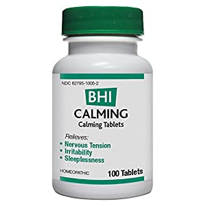 MediNatura BHI Calming Tablets, 100 Count
