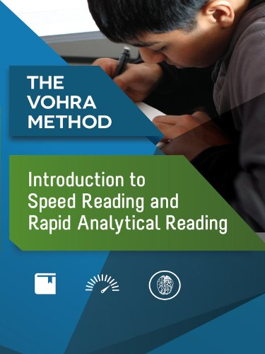 Introduction to Speed Reading and Rapid Analytical Reading