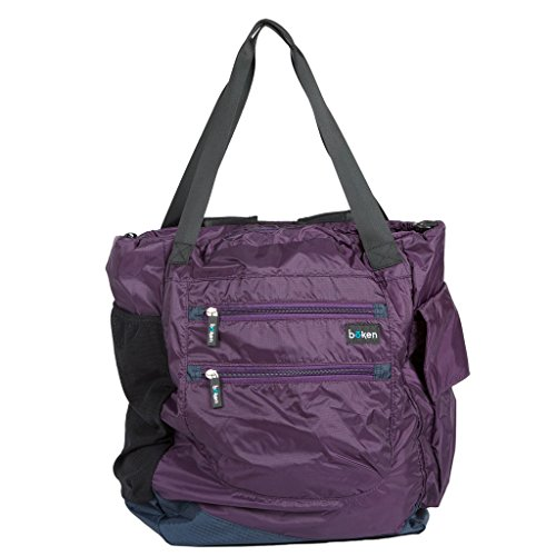 Boken Every Day Diaper Bag in Eggplant