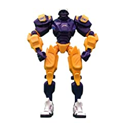 San Diego Chargers 10 Team Cleatus FOX Robot NFL Football Action Figure Version 2.0 by Foamhead