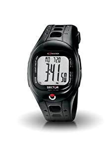 Sector Sports Watch R3251274015 In Collection Outdoor with Digital Display and Black Strap