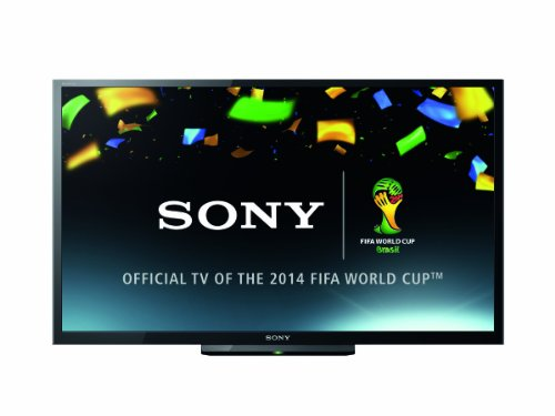 Sony KDL32R433 32-inch Widescreen HD Ready Television with Freeview - Black