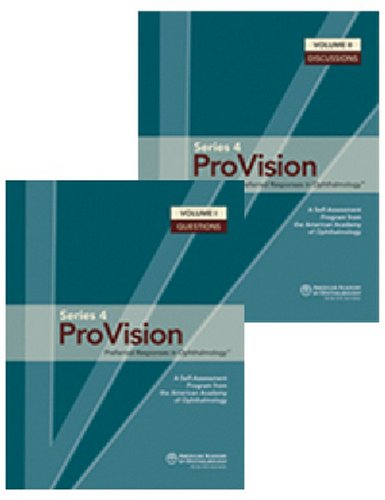 Provision: Preferred Responses in Ophthalmology, 2v Set (ProVision Series)