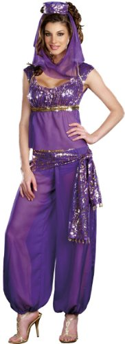 Ally Kazaam Womens Genie Costume- Medium