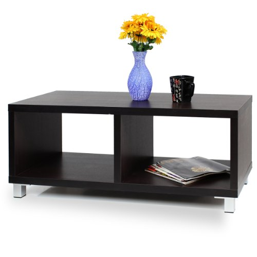 Cheap FURINNO XBF65-E Nihon Dual-Function Contemporary TV Stand/Coffee Table, Espresso (XBF65-E)