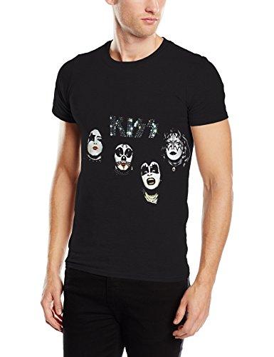 Plastic-Head-Kiss-1974-Camiseta-Hombre