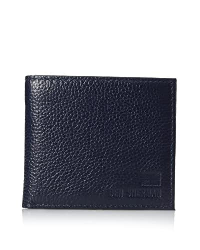 Ben Sherman Men's Print Billfold, Navy